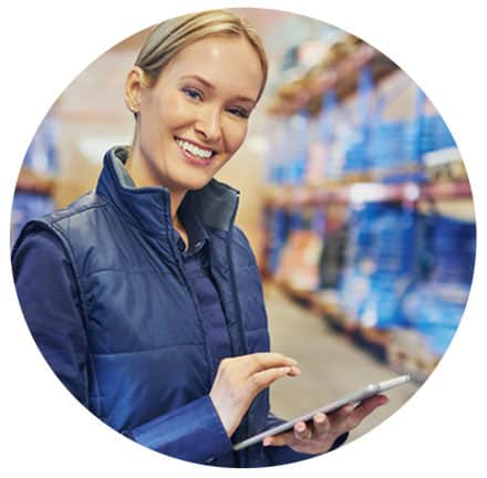 Learn more about Senitron Hands-Free RFID Solutions in the Warehouse & Distribution Industry