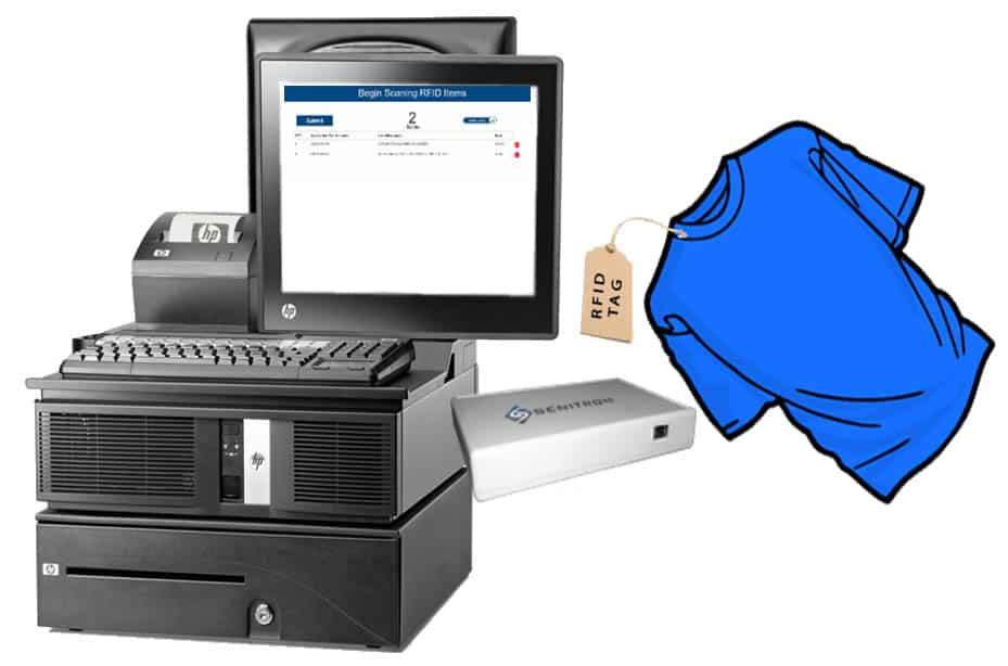 LightSpeed POS integration with Senitron Solutions encoder pad