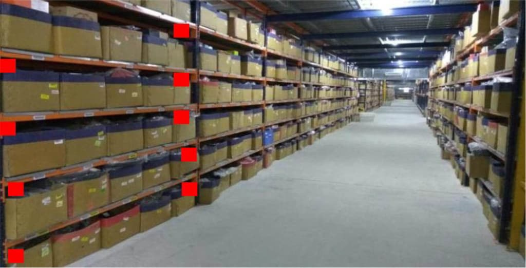 RFID INSTALLATION WAREHOUSE