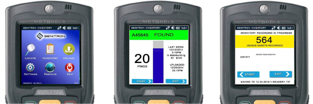 SENITRON RFID HANDHELD READER2