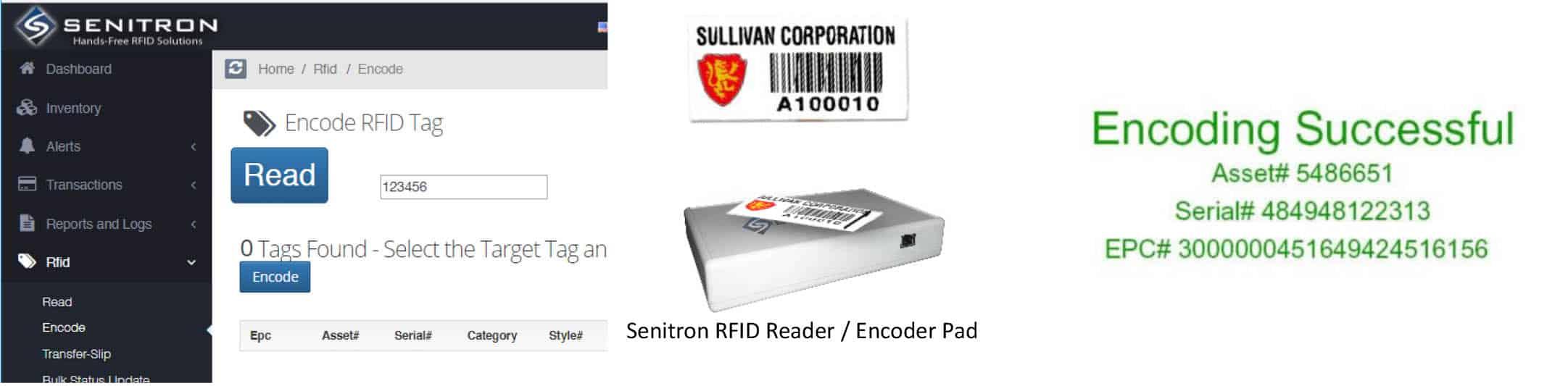 rfid encode page
